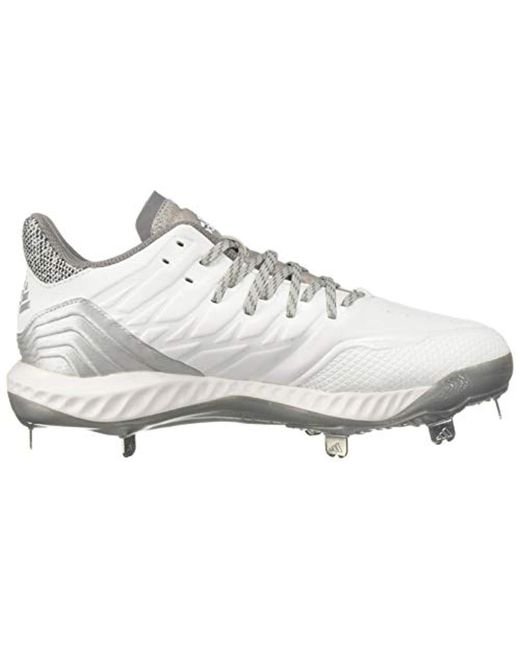best sneakers 304b0 6b281 ... Adidas - Gray S Icon Bounce Metal Cleats for Men - Lyst ...