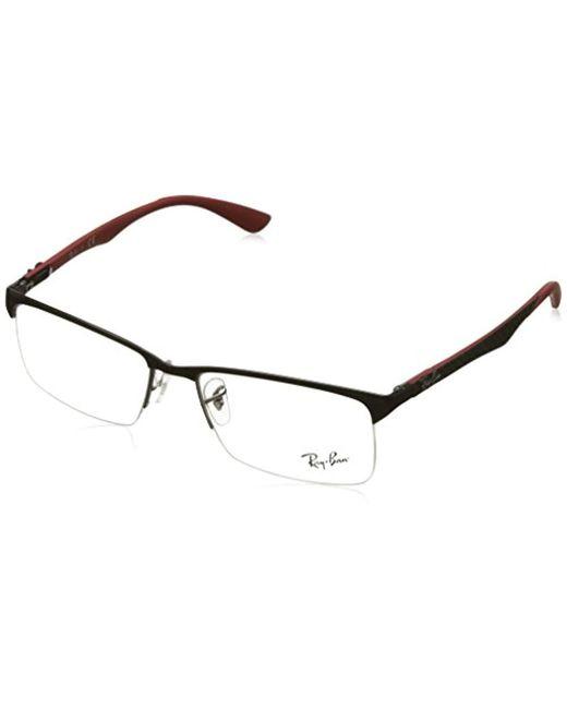 5ca5f1e582 Ray-Ban - Gray 0rx 8416 2914 55 Optical Frames