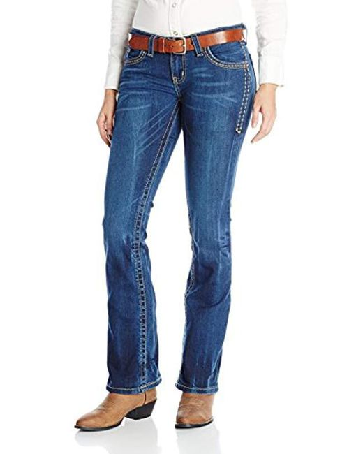 Wrangler - Blue Rock 47 Sits Above Hip Jean - Lyst