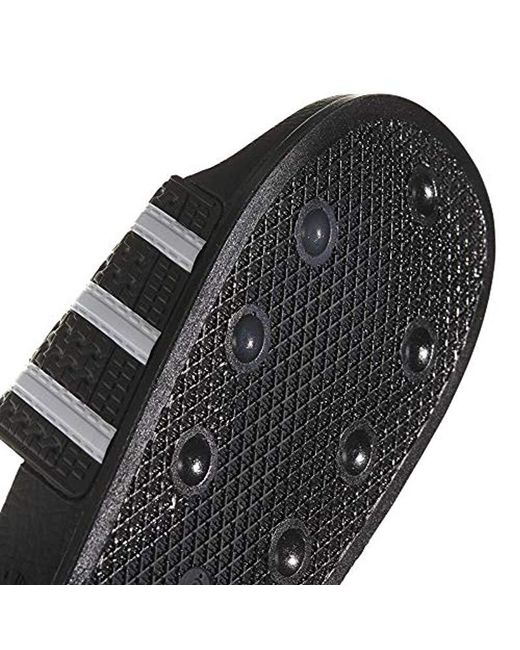 new concept dd14e e34f9 ... Adidas - Black Originals Adilette Slip-on Slides for Men - Lyst ...