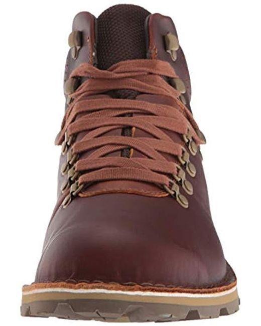 d7d941e24a6 ... Merrell - Brown Sugarbush Braden Mid Leather Waterproof Fashion Boot  for Men - Lyst ...