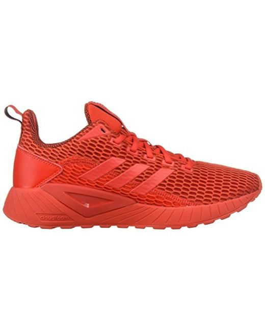 0ed3b6cc7fd Lyst - adidas Questar Cc Running Shoe in Red for Men - Save 10%