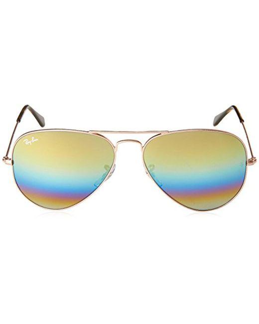 bdf473741a ... Ray-Ban - Unisex-adult Aviator Large Metal Non-polarized Aviator  Sunglasses