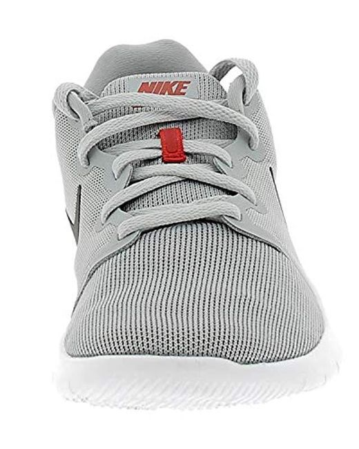 9f19aa909d514 ... Nike - Gray Flex Contact 2 Low-top Sneakers for Men - Lyst ...
