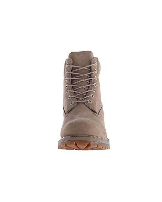 b95536d62943e ... Timberland - Brown 6 Inch Premium Waterproof Boots for Men - Lyst ...