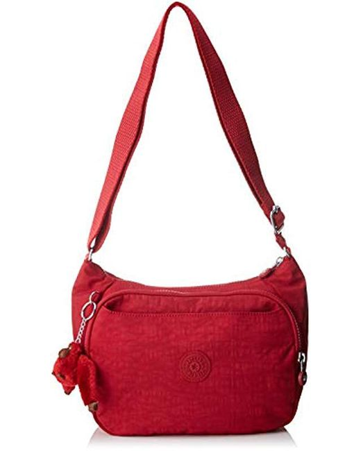 7048f37bf7 Kipling Cai Cross-body Bag in Red - Save 15% - Lyst