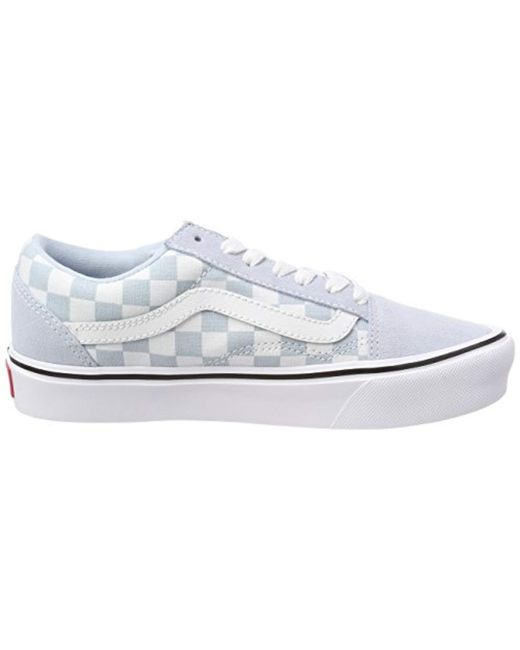 d4cfb94bf8 Vans Unisex Adults  Old Skool Lite Trainers in Blue for Men - Lyst