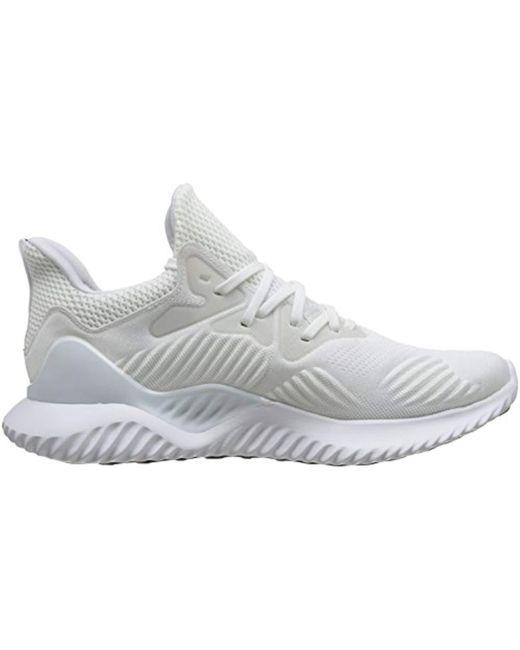 get cheap 4cca7 da932 ... alphabounce ams  adidas multicolor unisex adults alphabounce beyond  running shoes noir noir blanc