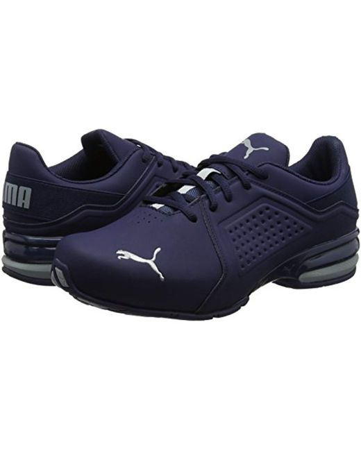 bed971f5adfd27 ... PUMA - Blue Viz Runner Competition Running Shoes for Men - Lyst ...