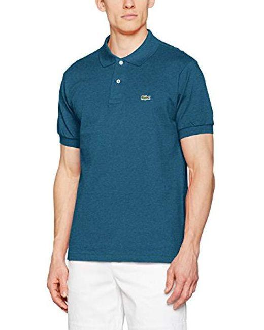 b24a52b0e9 Lyst - Polo Classic Fit Homme Lacoste pour homme en coloris Bleu
