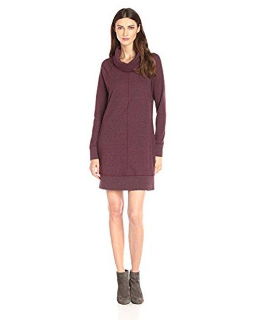 Woolrich - Purple Fairmount Waffle Dress - Lyst