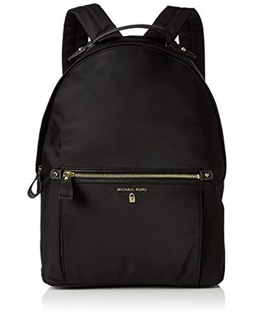 2ee9b4d4b093bf Michael Kors - Michael By Kelsey Black Nylon Large Backpack - Lyst ...