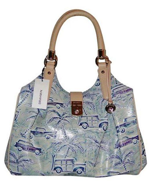 Brahmin - Blue Elisa Top-handle Bag - Lyst