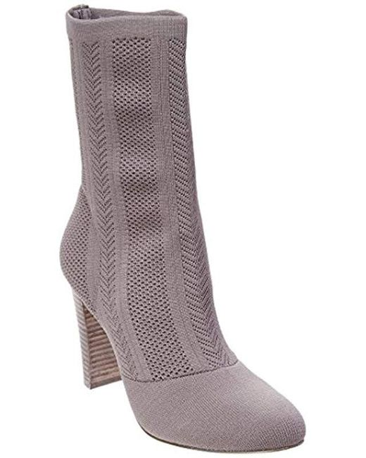 Charles David - Gray Shirley Bootie - Lyst
