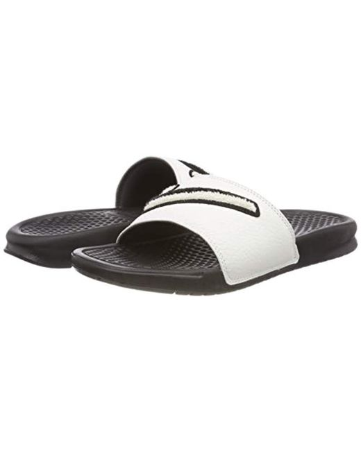 8d3dc09f5 ... Lyst Nike - Black  s Benassi Jdi Chenille Beach And Pool Shoes for Men  ...