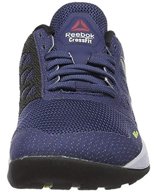 ... Reebok - Blue Crossfit Nano 6.0 Fitness Shoes - Lyst ... 6fdd25186