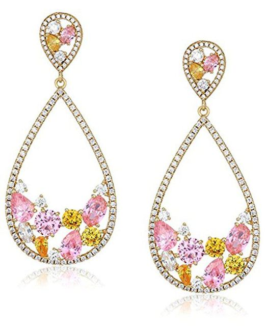 Nina - Metallic Jewelry Spring 2018 S E-arezzo (g) Earrings, Plated Gold - Lyst
