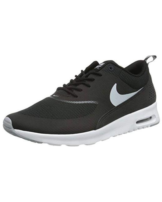 Nike - Black Air Max Thea Running Shoes - Lyst