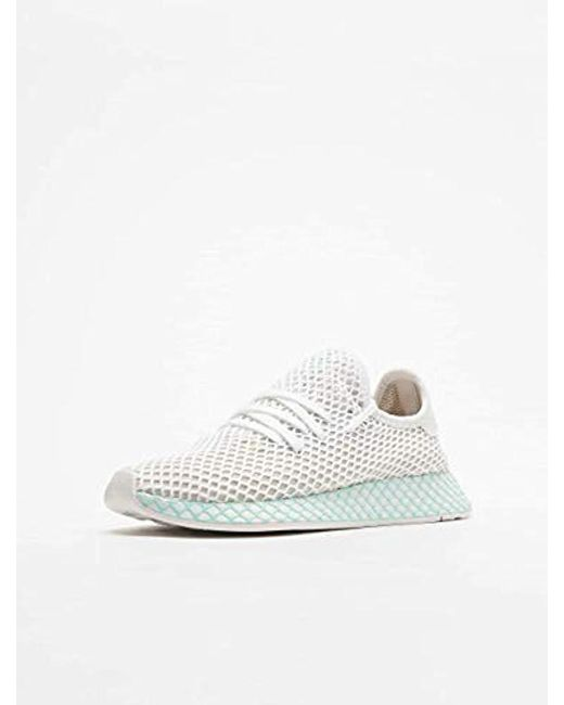 check out 6e5ed 514d0 ... Adidas - White Deerupt Runner W Running Shoes - Lyst ...