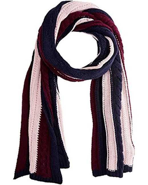 Tommy Hilfiger - Multicolor Cable Mix Scarf - Lyst