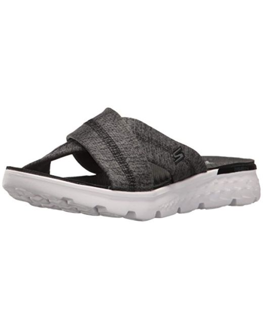 Skechers Performance On The Go 400 Tropical Flip Flop Lyst