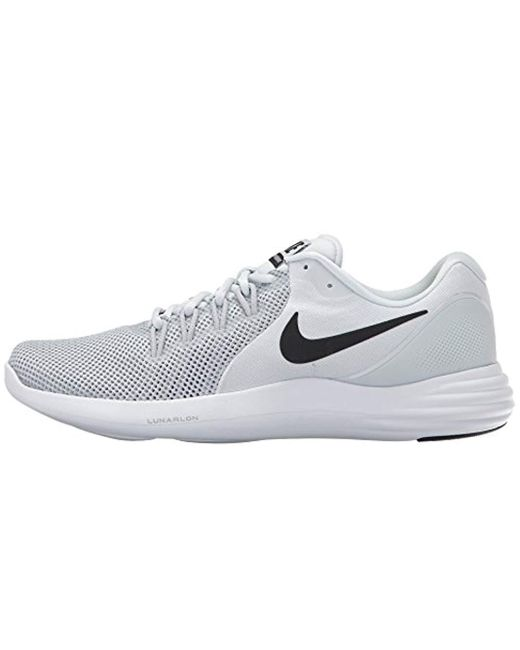 buy popular 21c60 4a662 Nike Lunar Apparent in Gray for Men - Lyst