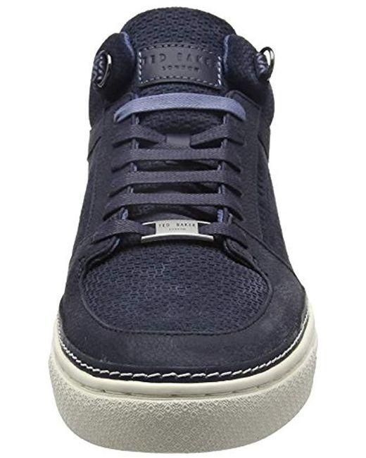 online retailer b03cc 77f02 ted-baker-Blue-Dark-Blue-Komett-Hi-top-Sneakers.jpeg