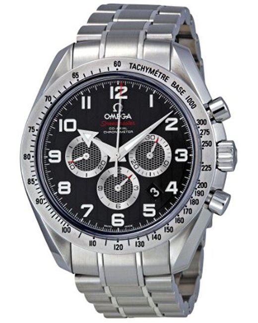 Omega 321.10.44.50.01.001 Black Dial Speedmaster Watch for men