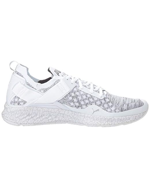 1db2c9f768b ... PUMA - White Ignite Evoknit Lo Hypernature Sneaker for Men - Lyst ...