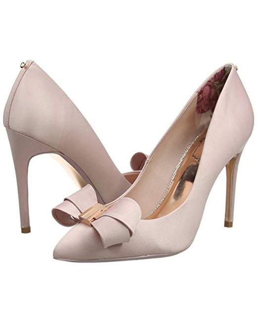 639d4e945d20a ... Ted Baker - Pink Womens Skalett Closed Toe Heels - Lyst ...
