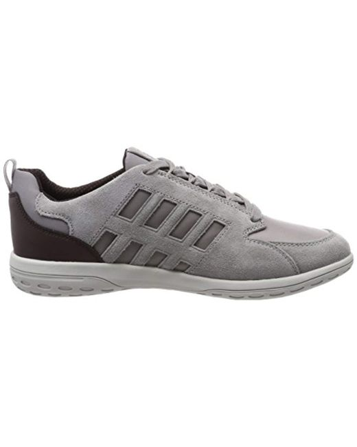 ... Geox - Gray U Mansel A Trainers Beige for Men - Lyst ... f5f3d6050ef