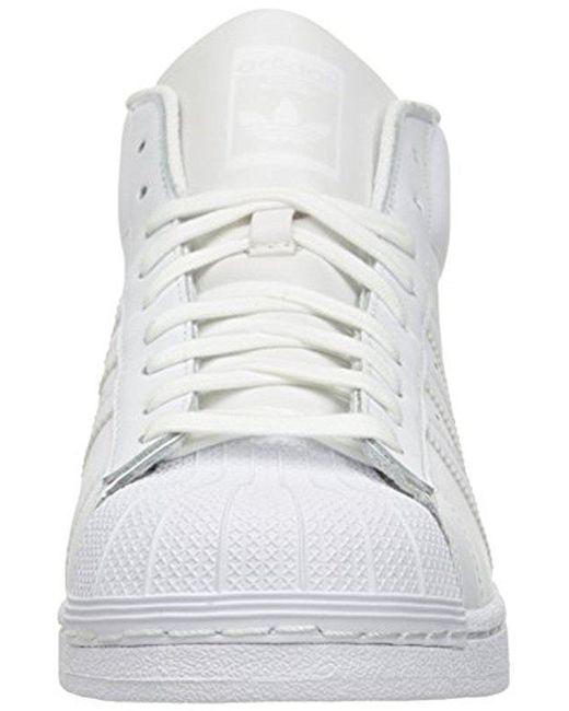 Lyst adidas Originals Pro Model M Fashion zapatilla en color blanco