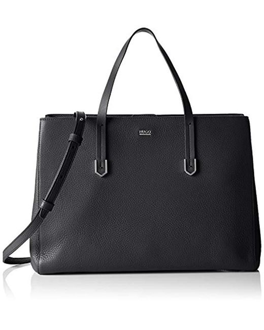 HUGO - Black 's Norah-r 10195833 01 Shopper, One Size - Lyst