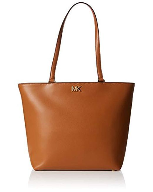 Michael Kors - Brown Mott Medium Tote Tote - Lyst ... 143b2c357843b