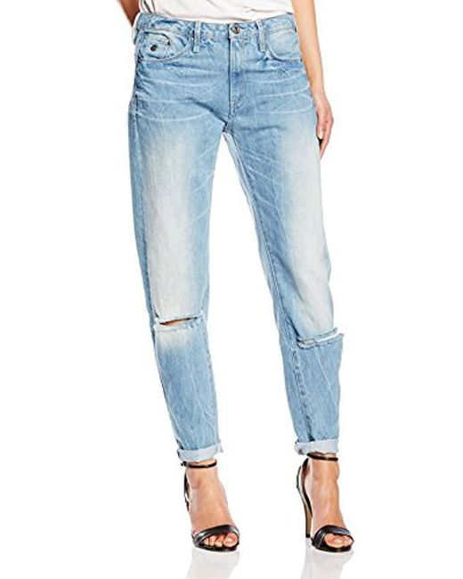 1adc2877489 G-Star RAW Type C 3d Low Waist Boyfriend Jeans in Blue - Save 73% - Lyst