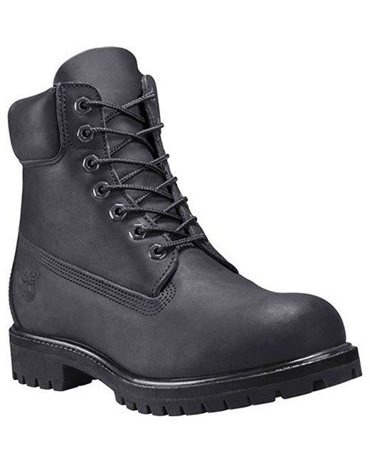 Timberland - Black 6 Inch Premium Waterproof Boots for Men - Lyst