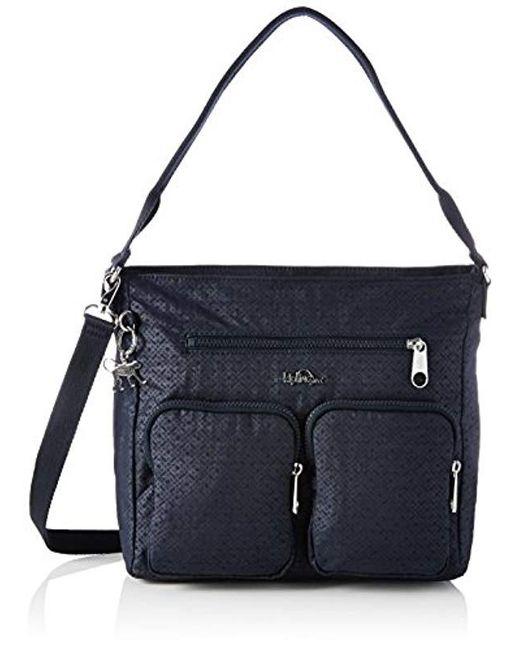 Kipling - Black Tasmo Hobos And Shoulder Bag - Lyst