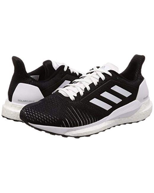 b03c2867428f9 ... Adidas - Black Solar Glide St Training Shoes Green - Lyst ...