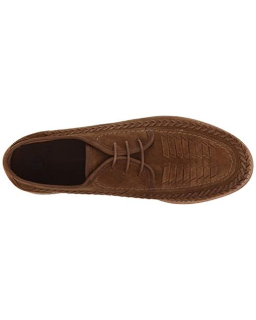Lyst H Braun By Hudson Anfa Suede Oxford in Braun H for Men 36ae6b