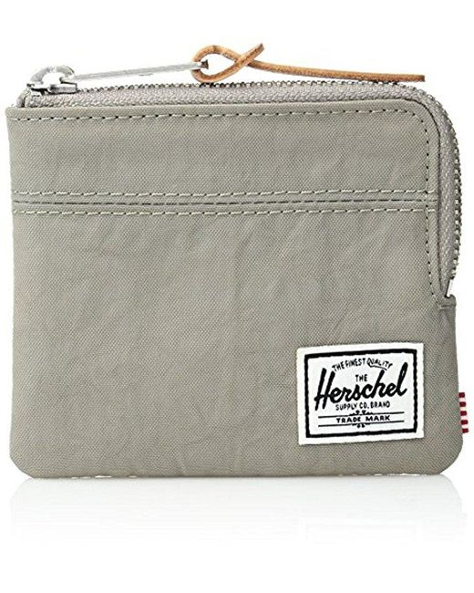 Herschel Supply Co. - Gray Johnny Nylon Wallet for Men - Lyst