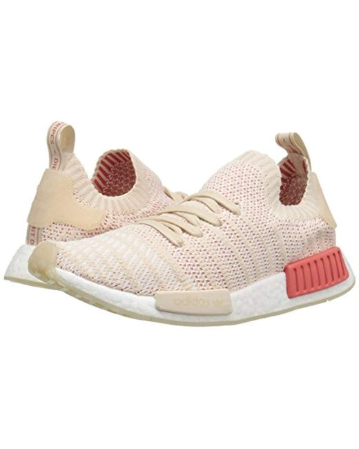 2d1a89814 ... Adidas Originals - White Nmd R1 Stlt Primeknit Sneakers - Lyst ...