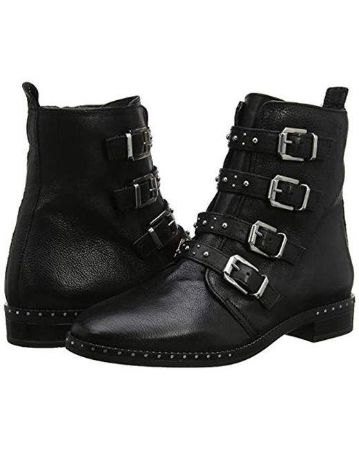 7d84feeba62 ... Dune - Black Pixxel Biker Boots - Lyst ...