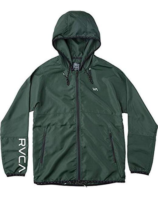 RVCA - Green Hexstop Ii Jacket for Men - Lyst