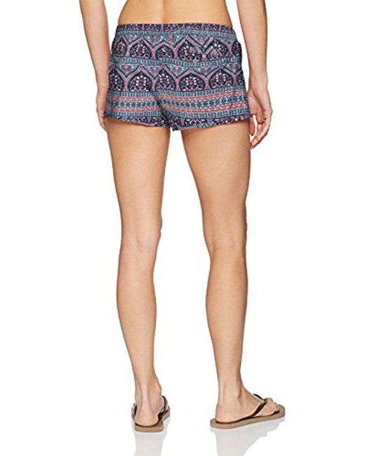 7f1c03441f Lyst - Roxy Pull On Boardshort in Blue - Save 30%