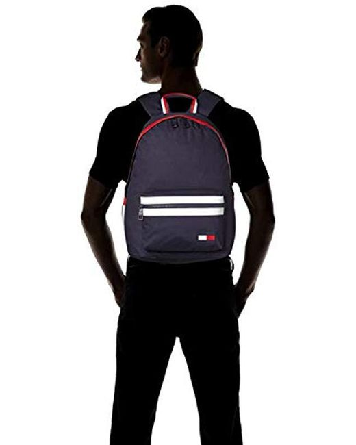 102e08b6e49 Tommy Hilfiger Am0am04635 Backpack Backpack Unisex in Blue - Save 46 ...
