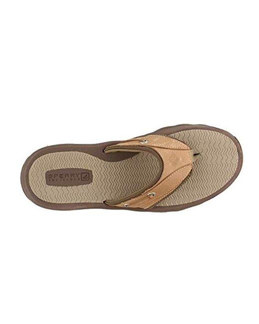 79b5580da866d0 ... Sperry Top-Sider - Brown Top-sider Outer Banks Thong Sandal for Men ...