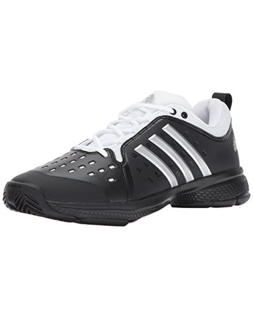 low priced 9e57b bac62 Adidas - Black Barricade Classic Bounce Tennis Shoe for Men - Lyst ...