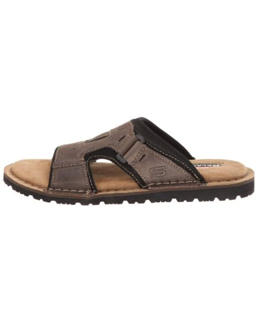 modern techniques great variety models 50% price Skechers S Golson Volume Clogs And Mules in Brown for Men - Lyst