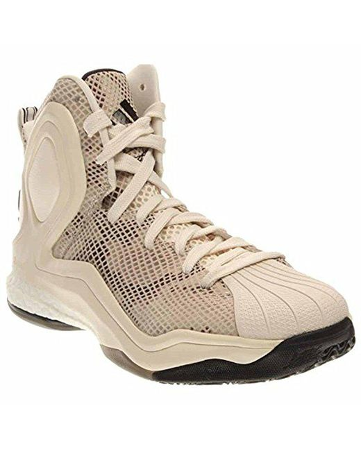 brand new 475a1 2c1b1 ... australia adidas multicolor performance d rose 5 boost basketball shoe  for men lyst 25360 1305c