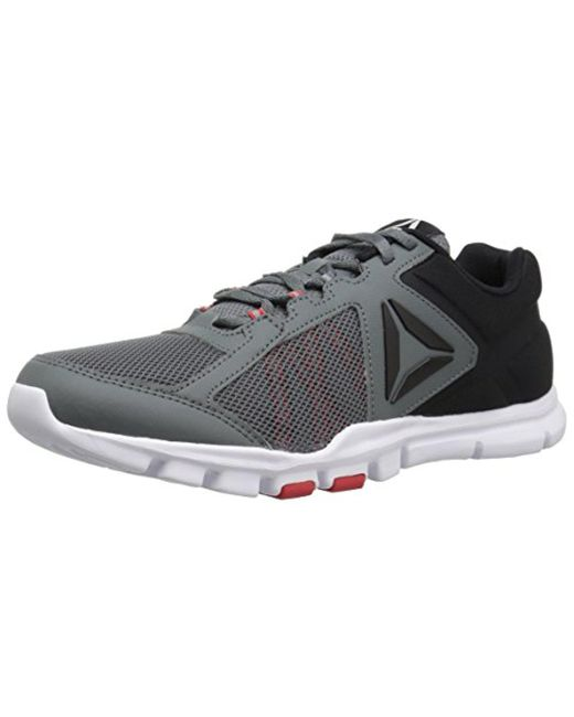 Lyst - Reebok Yourflex Train 9.0 Mt Running Shoe in Black for Men ... b9c31172a